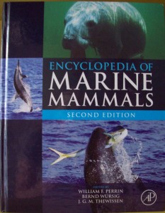 The esteemed book on marine mammals