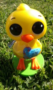 Plastic Easter chick