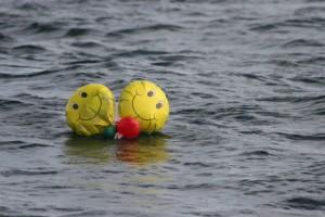 Balloons creepy smiling